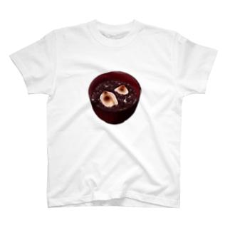 ぜんざいが好きな人によるぜんざいグッズ T-shirts