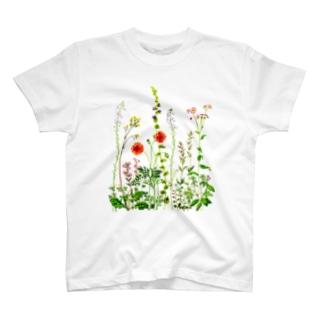 野の花 T-shirts