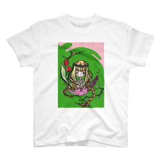 春ヨ T-shirts