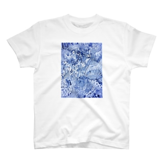 (青) T-shirts