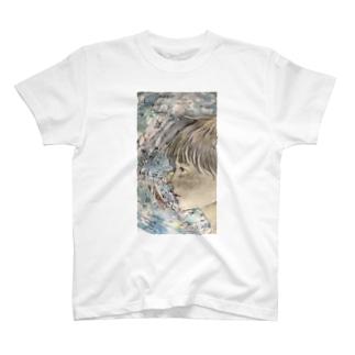 中学2年3学期の少年 T-shirts