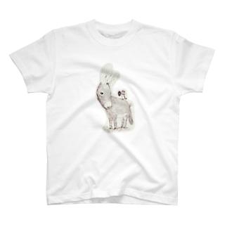 ロバ蓄音機 T-shirts