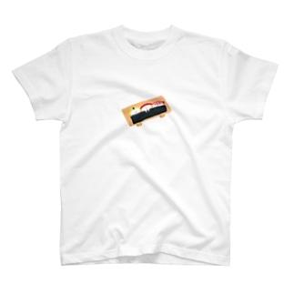 寿司下駄で就寝 T-shirts