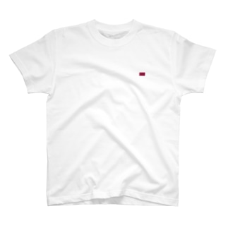 カタール国旗 胸ロゴ T-shirts