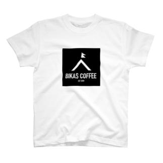 BIKAS COFFEE Tシャツ T-shirts