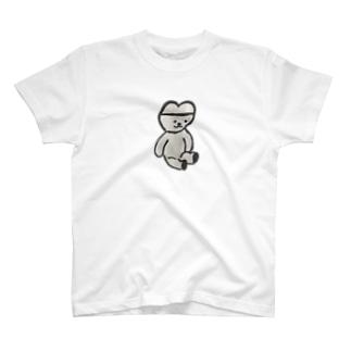 くまくま。イェーイ(遺影) T-shirts