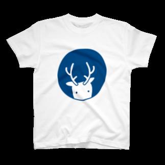 鹿手袋シカテグッズ屋のシカテ T-shirts