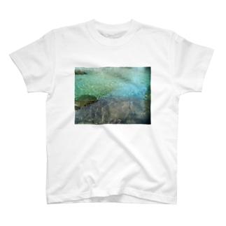 秘境の水鏡プレゼント T-shirts