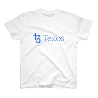 仮想通貨 Tezos T-shirts