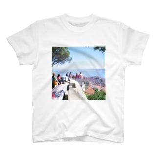 ポルトガル:リシュボアの風景写真 Portugal: Castelo de São Jorge / Lisboa ( Lisbon ) T-shirts
