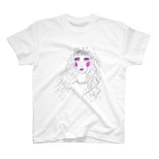 おじさん&おじさんのBASUE T-shirts