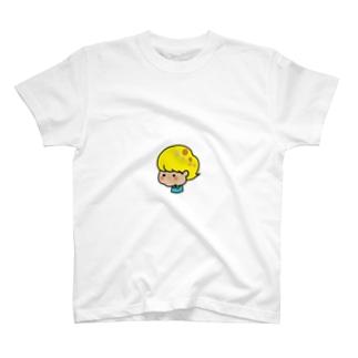 えりあし寝癖君 T-shirts