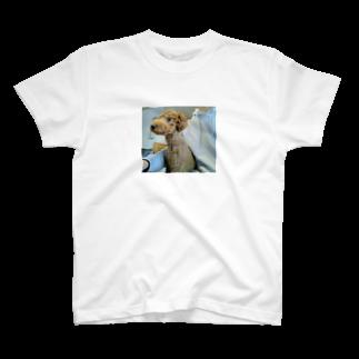 Yukifukiのパーカーの中のパーカーと愛犬 T-shirts