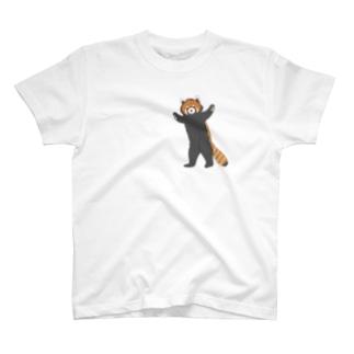 レッサーパンダくん T-shirts