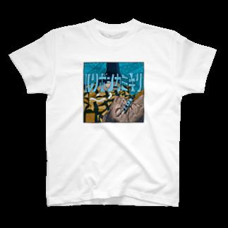 PEATMOTHのルリボシカミキリ T-shirts