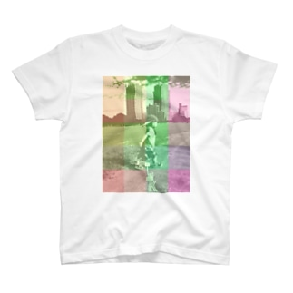 walk check T-shirts