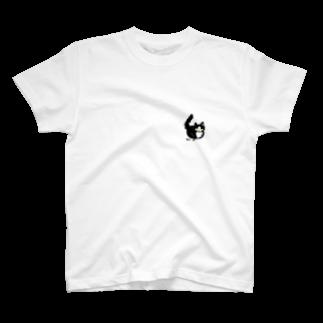 猫(gnp)のはちわれ猫のおすまし T-shirts