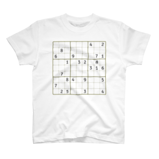 chamersのナンプレ T-shirts