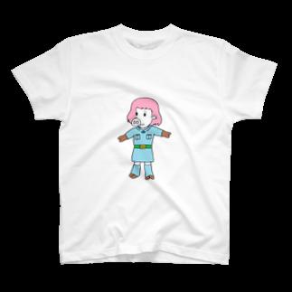 豚人イラストのパンダ武島の風の谷のナウいブタ T-shirts