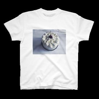 煙のケーキ T-shirts