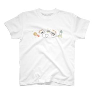 宇宙遊泳シリーズ T-shirts