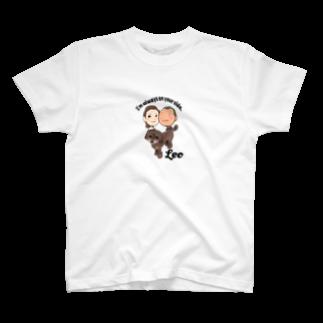 昭広 中里のLeo T-shirts