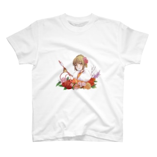 着物美人 『冬』 T-shirts
