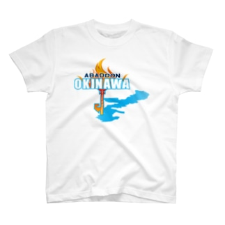 ABADDON OKINAWA BLUE FIGHT T-shirts