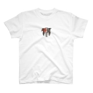 人体模型 大胸筋 T-shirts
