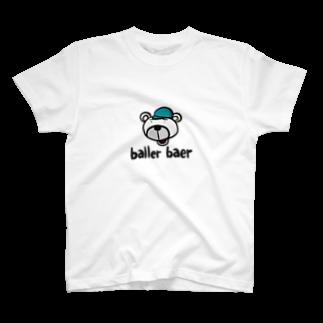 microhorseのballer baer T-shirts