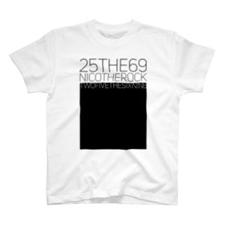 NicoRock 2569の25THE69NICOTHEROCK T-shirts