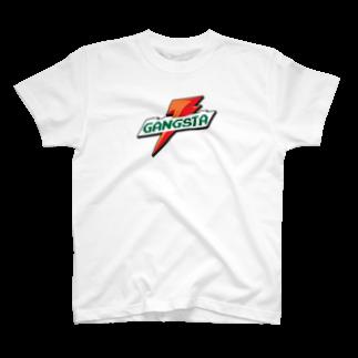Fuckin'ApparelのGANGSTA apparel T-shirts