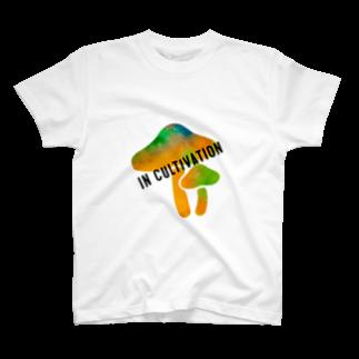 aiko_Blessing_のキノコ栽培中 T-shirts