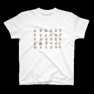 おで子、前を向け!/おで子ヒカル👨🏻🦲のおでこヒカルちゃん いろんな表情 T-shirts