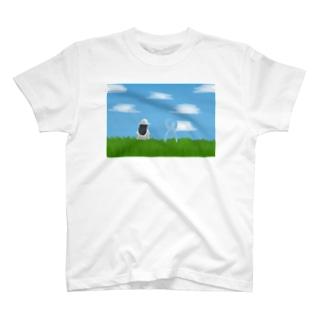 一人で寂しそうだったから T-shirts