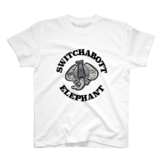 WHITE RAINBOWのswitchabotto-elephant T-shirts