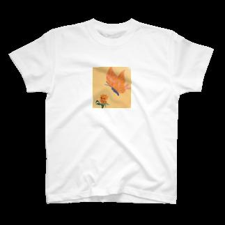 ta28summerのばたふらい T-shirts