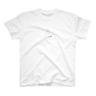 撲殺うさぎさん T-shirts