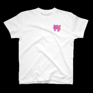のばたろのラブラブカップルちゃん T-shirts