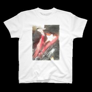 Lost'knotの中ノ紅イ人間 T-shirts