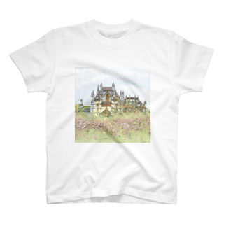 FUCHSGOLDのCG絵画:バターリャ修道院 CG art: Batalha Monastery T-shirts