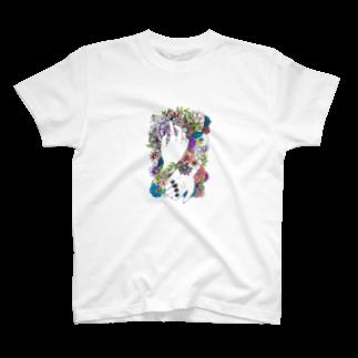 morihiのテトテ T-shirts