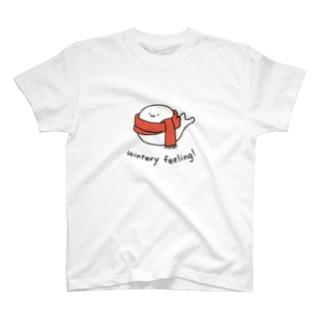 冬を宣告するあざらし T-shirts