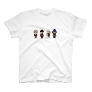 動物シリーズ(ミニキャラ) T-shirts