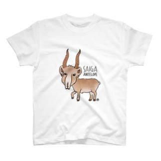サイガくん Saiga Antelope T-shirts