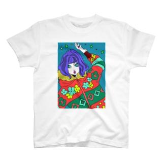 もふもふ T-shirts