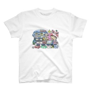 天神丸 T-shirts