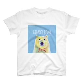 リボンつきシロクマ T-shirts