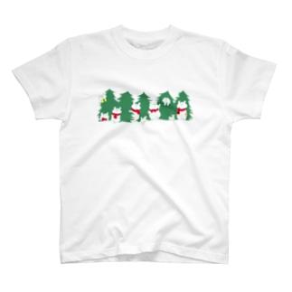 クリスマス限定 もみの木 T-shirts