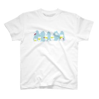 クリスマス限定 もみの木(冬色) T-shirts